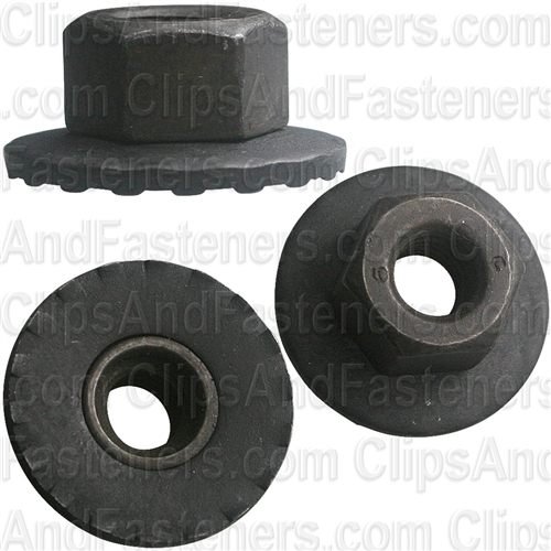 M6 1 0 Free Spinning Washer Nut 19mm Od