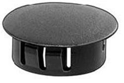 Black Nylon Locking Hole Plug 13 16 Hole Dia