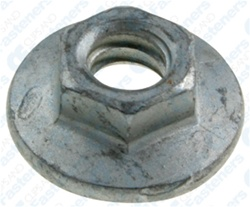 metric hex flange nut   thread size