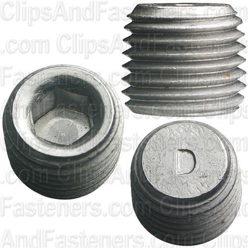 Quot hex socket head pipe plug