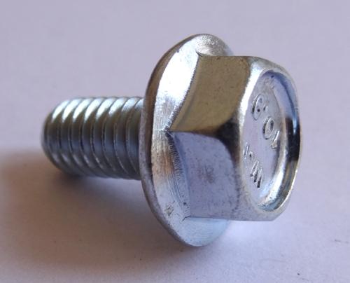 25 M 6 1 0 X 12mm Jis Hex Head Flange Bolt Small