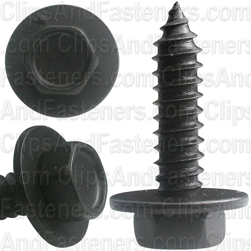 6.3-1.81 X 25mm Hex Head Sems Tapping Screw