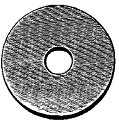 Fender Washer 7 16 ID 1 3 4 OD 8 Thick